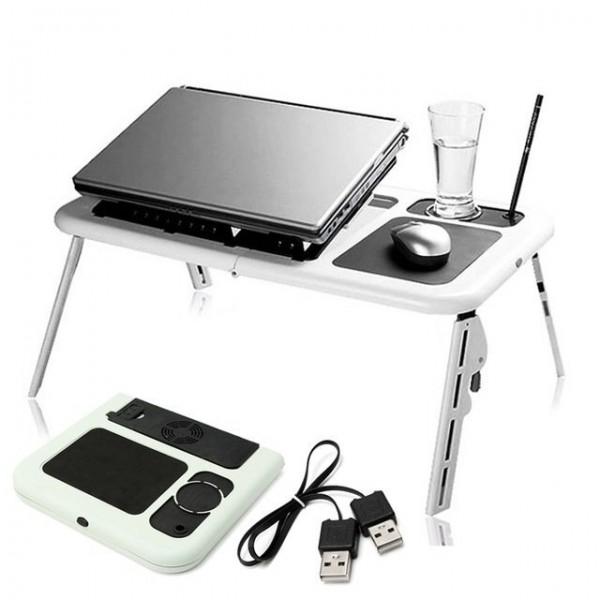 Компактна охлаждаща масичка за Лаптоп