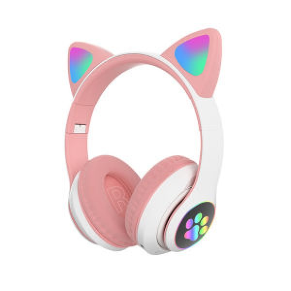 Слушалки CAT , Светещи, BT5.0, Микрофон