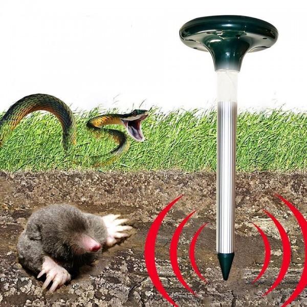 Соларен ултразвуков уред против гризачи и змии